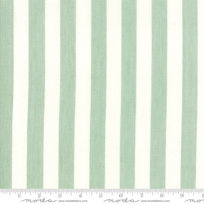 Fabric - Sweet Christmas Pre-hemmed Toweling - Green / White