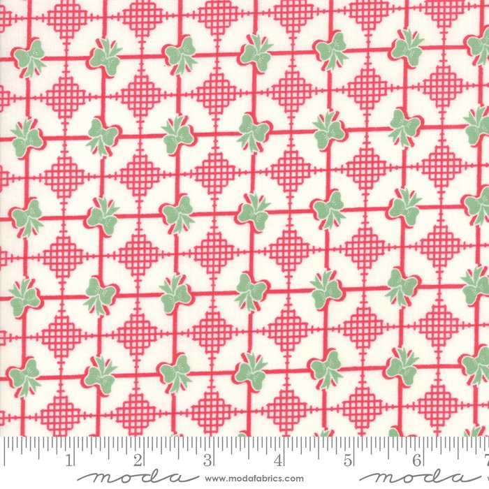 Fabric Sweet Christmas - Peppermint Bows