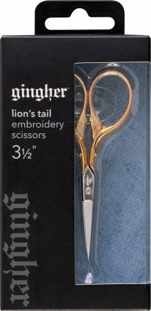 Notions Gingher Lions Tail Embroidery Scissors