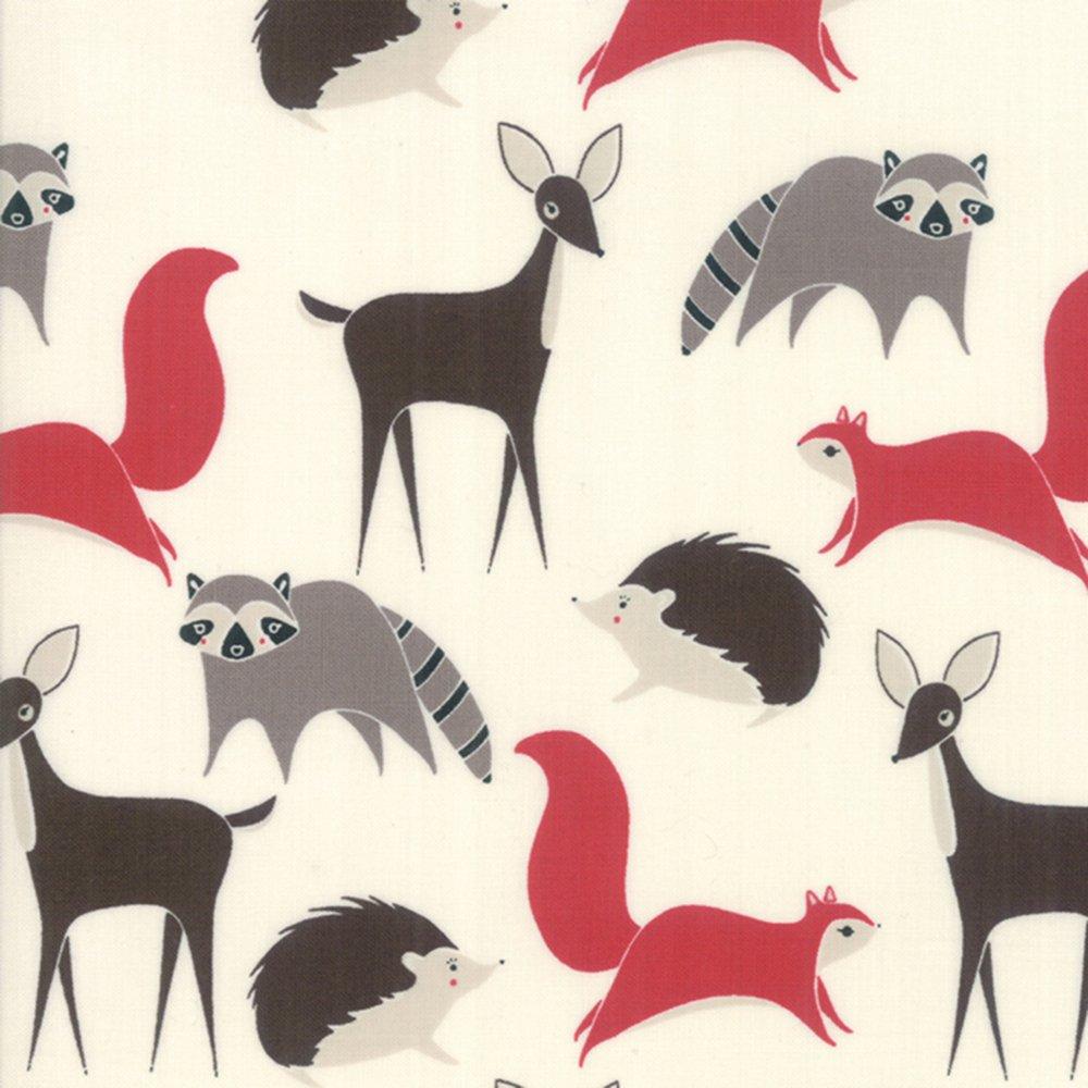Forest Creatures - Cotton Print