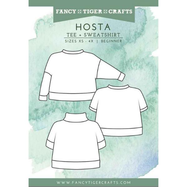 Hosta Tee and Sweatshirt