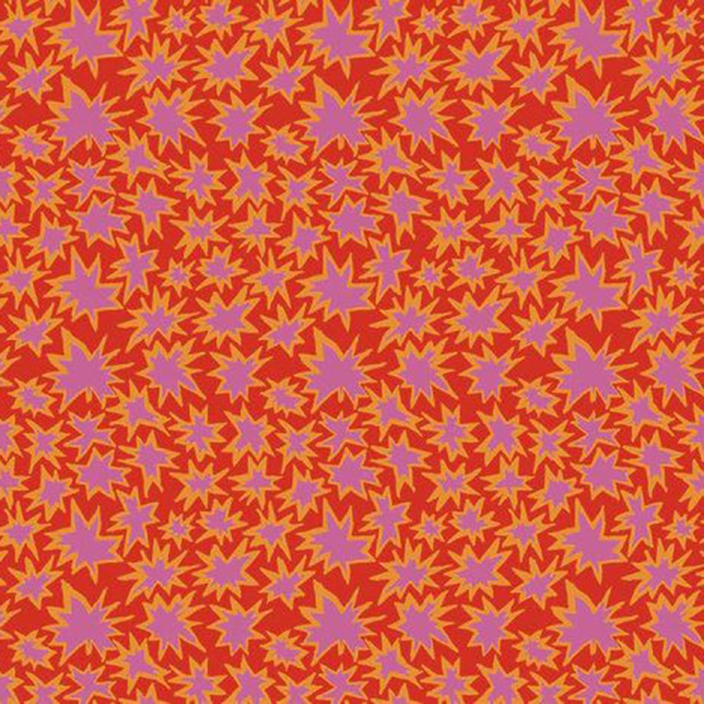 Bang (Red) - Cotton Print