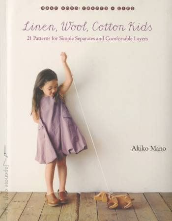 Book Linen, Wool, Cotton Kids - Akiko Mano
