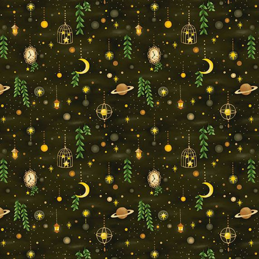 Forest Sky - Cotton Print