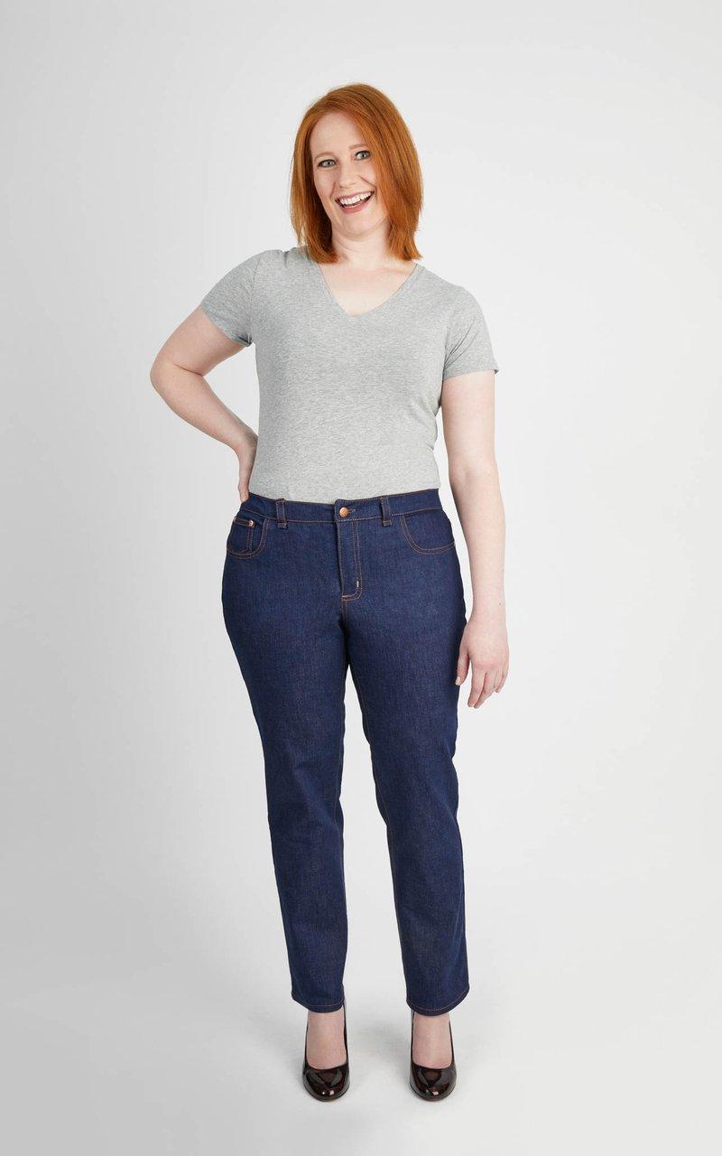 Pattern  Ames Jeans - Cashmerette Patterns