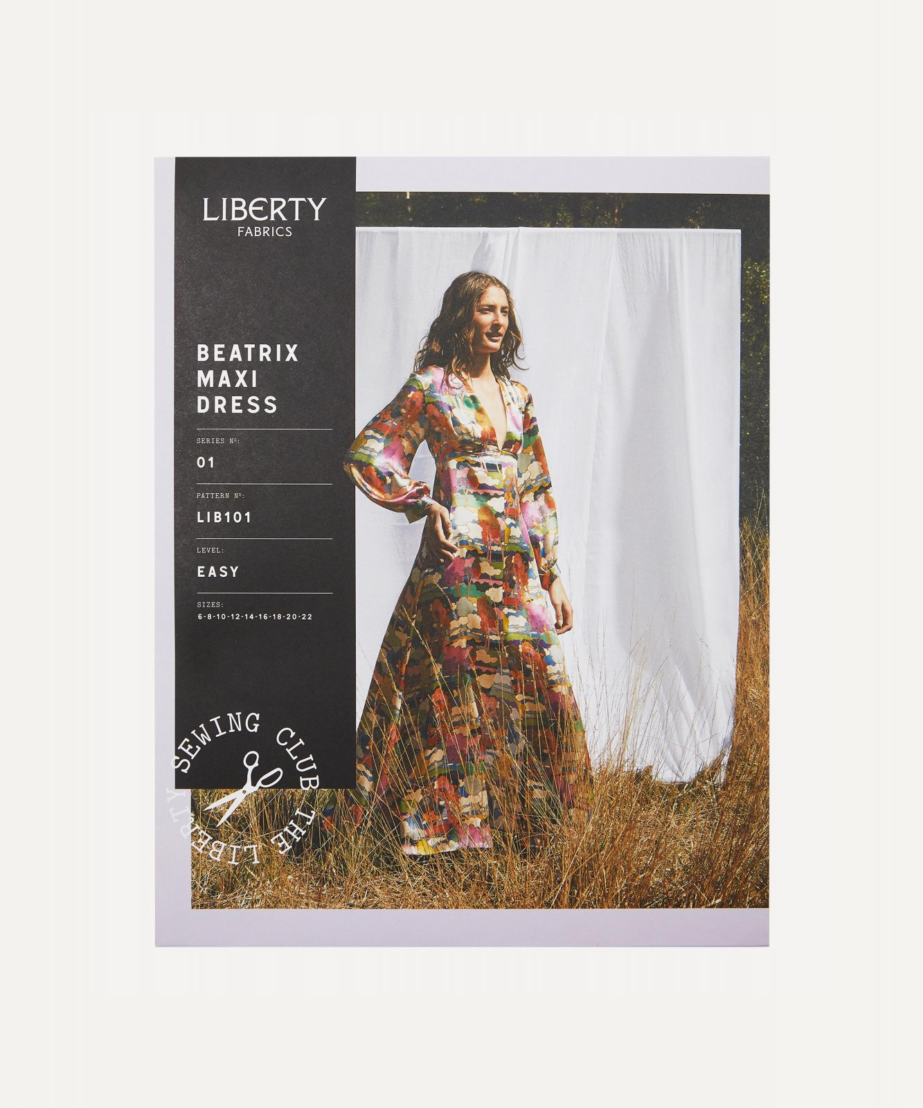 Pattern Beatrix Maxi Dress Liberty of London