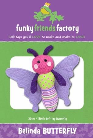 Pattern Belinda Butterfly Toy - Funky Friends Factory