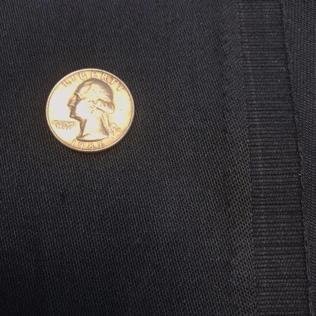 Cotton Jacket-Weight Twill - Soft Black