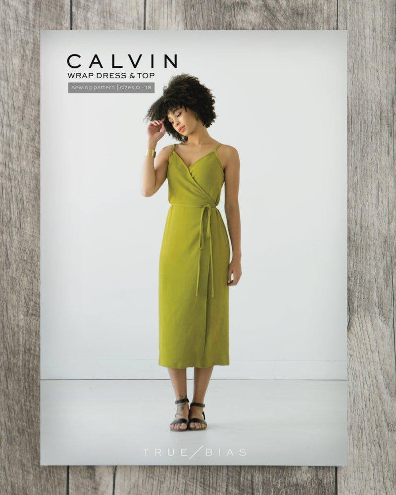 Pattern Calvin Dress True Bias