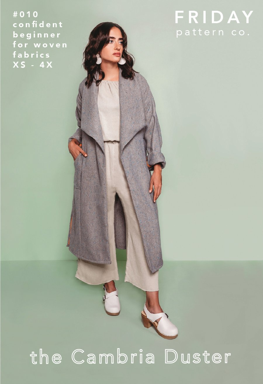 Pattern Cambria Duster - Friday