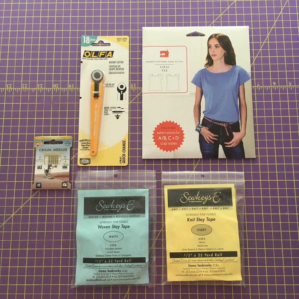 Chai Tee Knit Pattern/Notions Kit - Complete