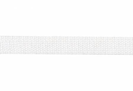 Trim Cotton Webbing  1in White by the yard