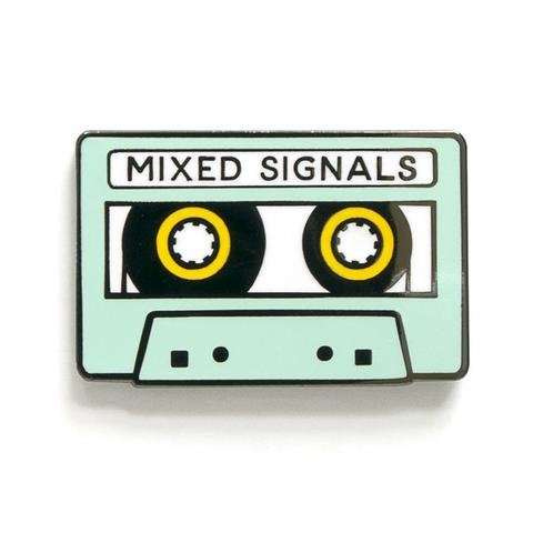 Pin - Mixed Signals - Smarty Pants Paper Co.