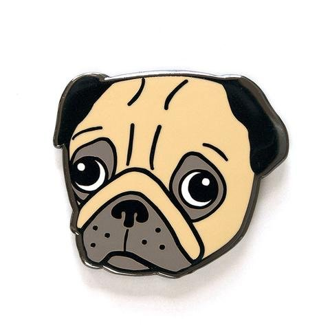 Pin - Pug - Smarty Pants Paper Co.