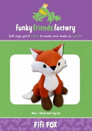 Pattern Fifi Fox Toy - Funky Friends Factory