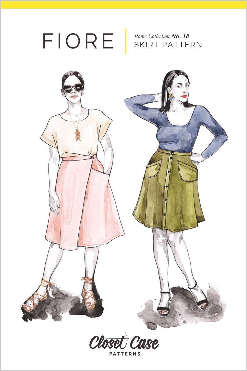 Pattern Fiore Skirt - Closet Core