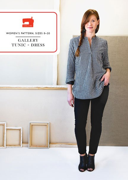 Pattern  Gallery Tunic + Dress - Liesl & Co.