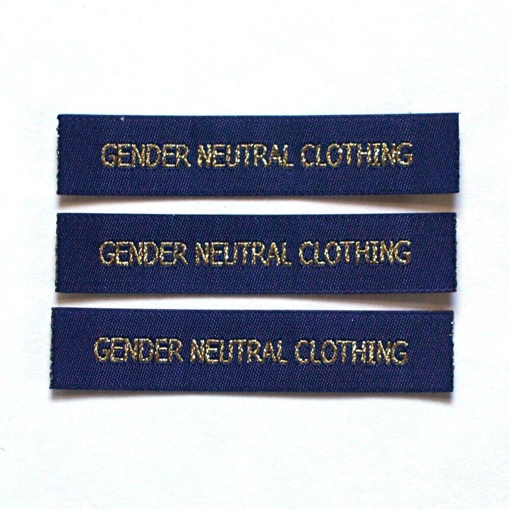 Label Gender Neutral Clothing SewQueer