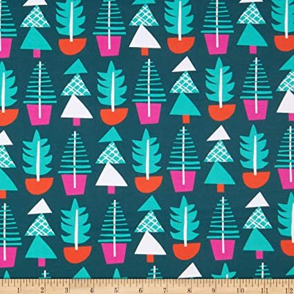 Fabric Handmade Holiday - Evergreens
