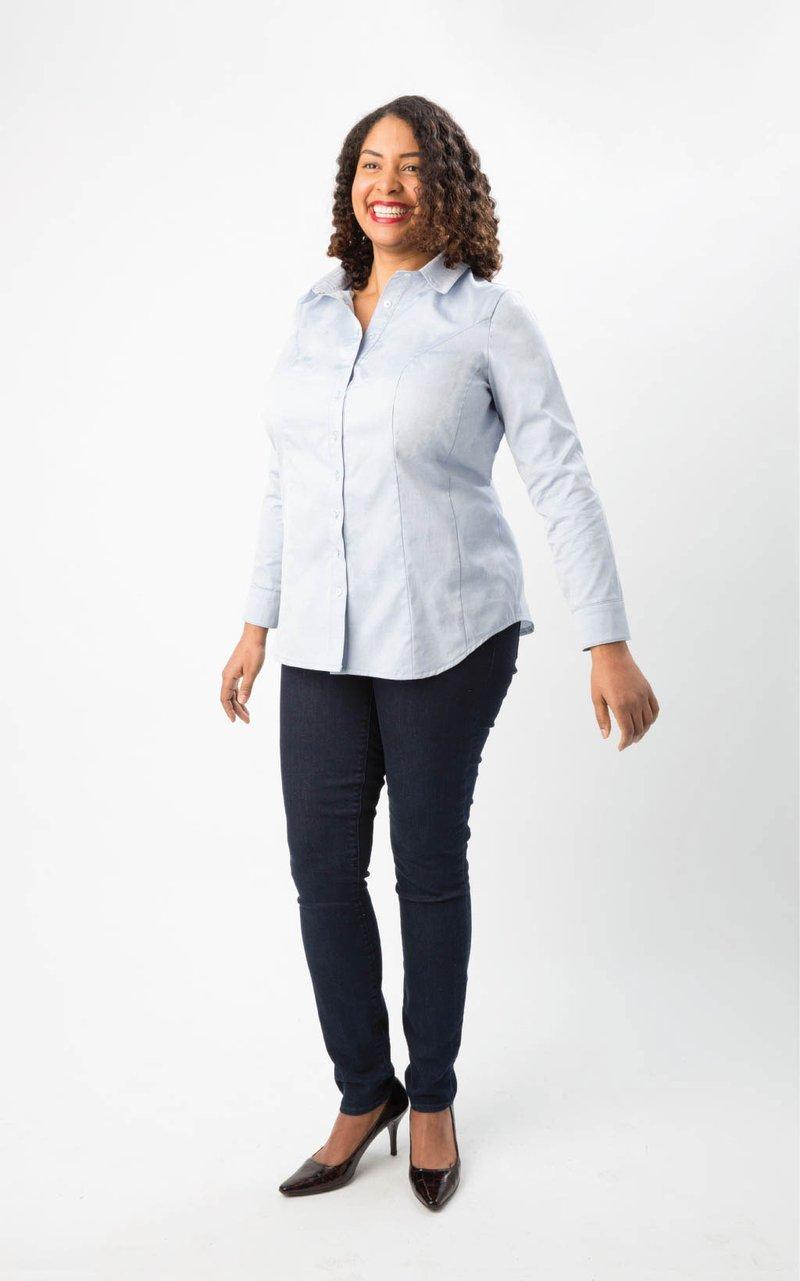 Pattern Harrison Shirt - Cashmerette Patterns