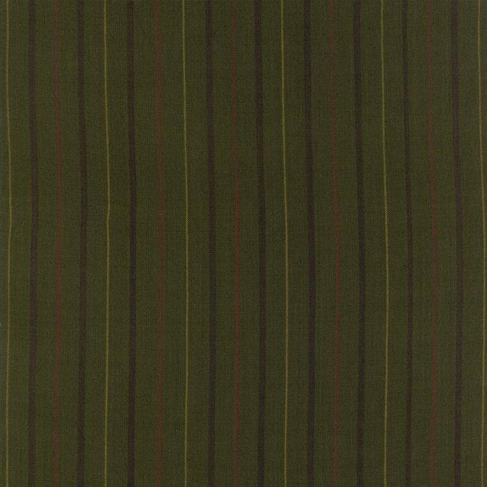 Fabric Flannel Homespun Green Briar