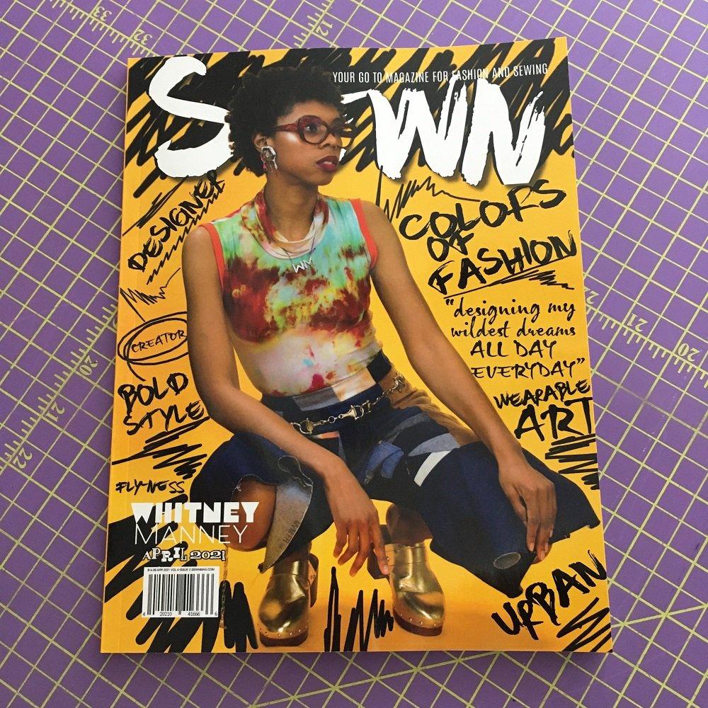 Sewn Magazine - April 2021 Vlm. 4.2 (SALE!)