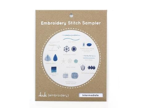 Embroidery Kit Intermediate Sampler Kiriki Press