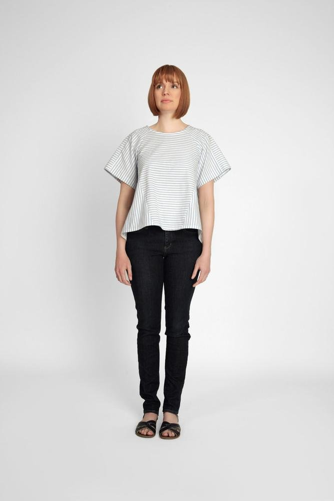 Pattern Collins Top In the Folds