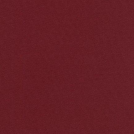 Fabric Cotton/Lycra  Burgandy Jetsetter Twill