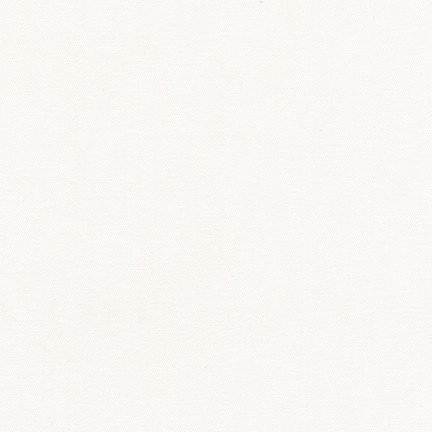 Fabric Cotton/Lycra White Jetsetter Twill