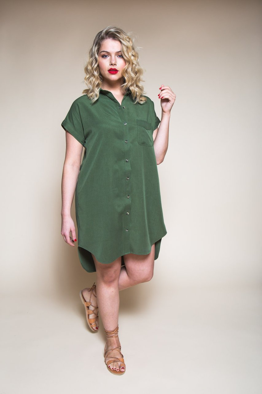 Pattern Kalle Shirt & Shirtdress - Closet Core