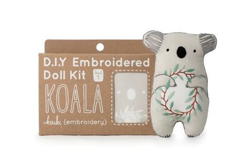 Embroidery Kit Doll Koala Kiriki Press