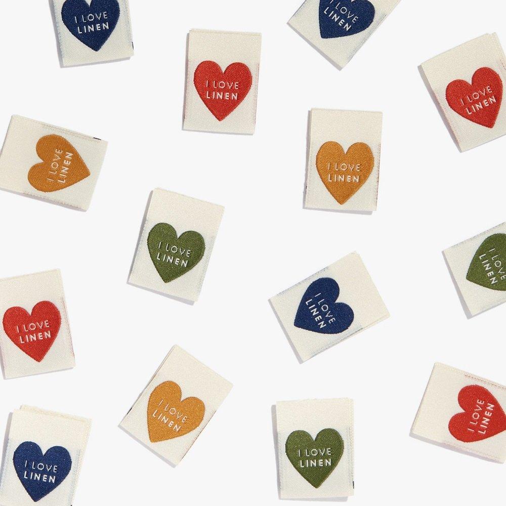 Garment Labels - I Love Linen