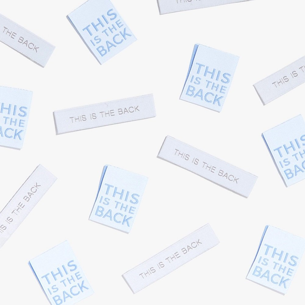 Garment Labels - This is the Back - Dual Pack