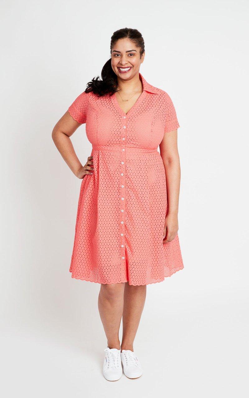 Pattern  Lenox Shirtdress - Cashmerette Patterns