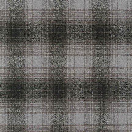 Fabric Flannel Mammoth Grey