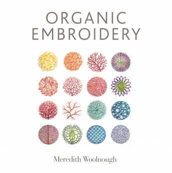 Book Organic Embroidery by Meredith Woolnough