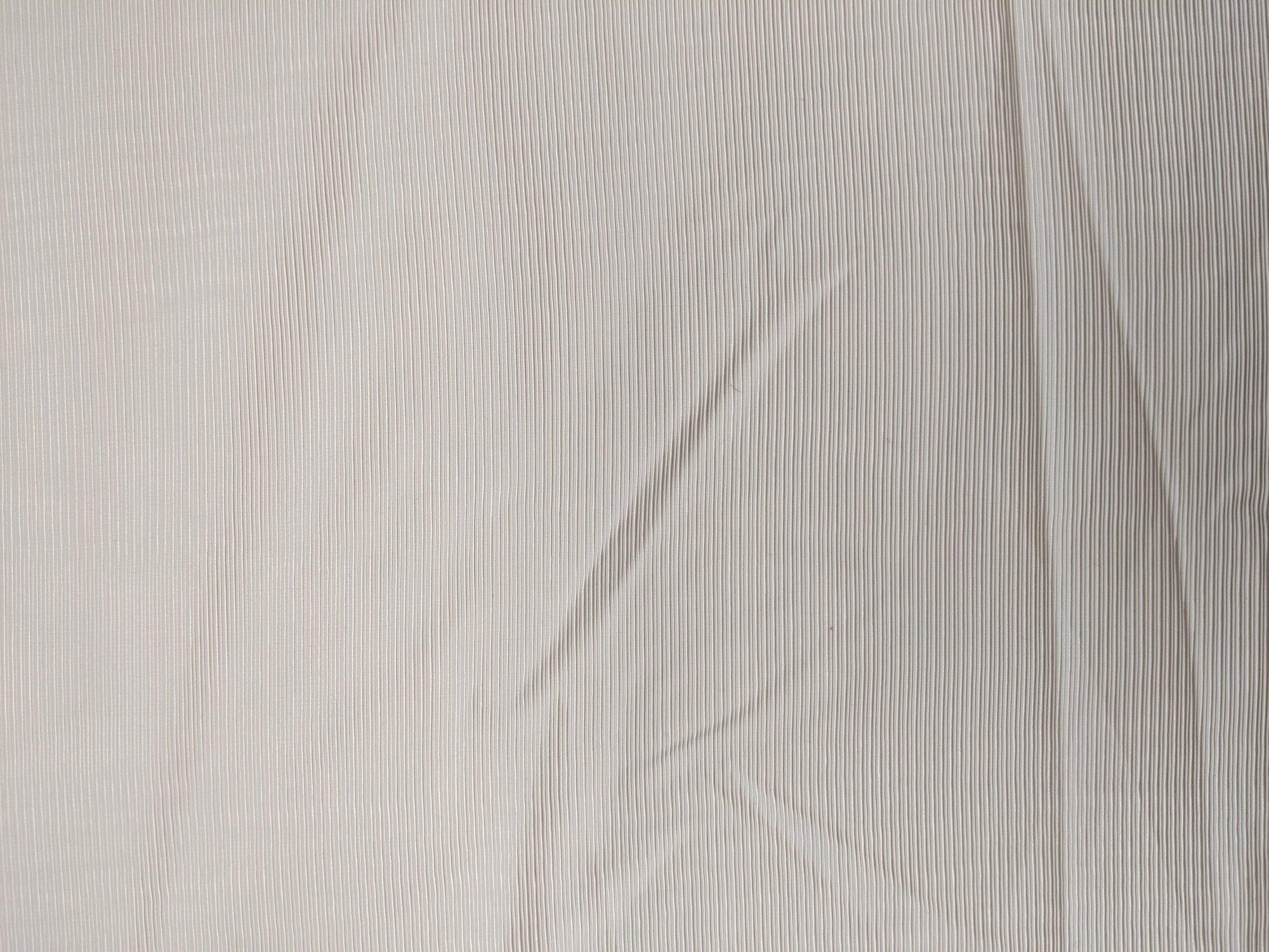 Fabric Ottoman Ribbed Silk