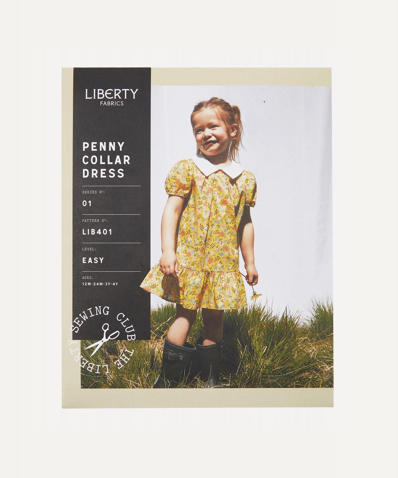Pattern Penny Collar Child's Dress Liberty of London