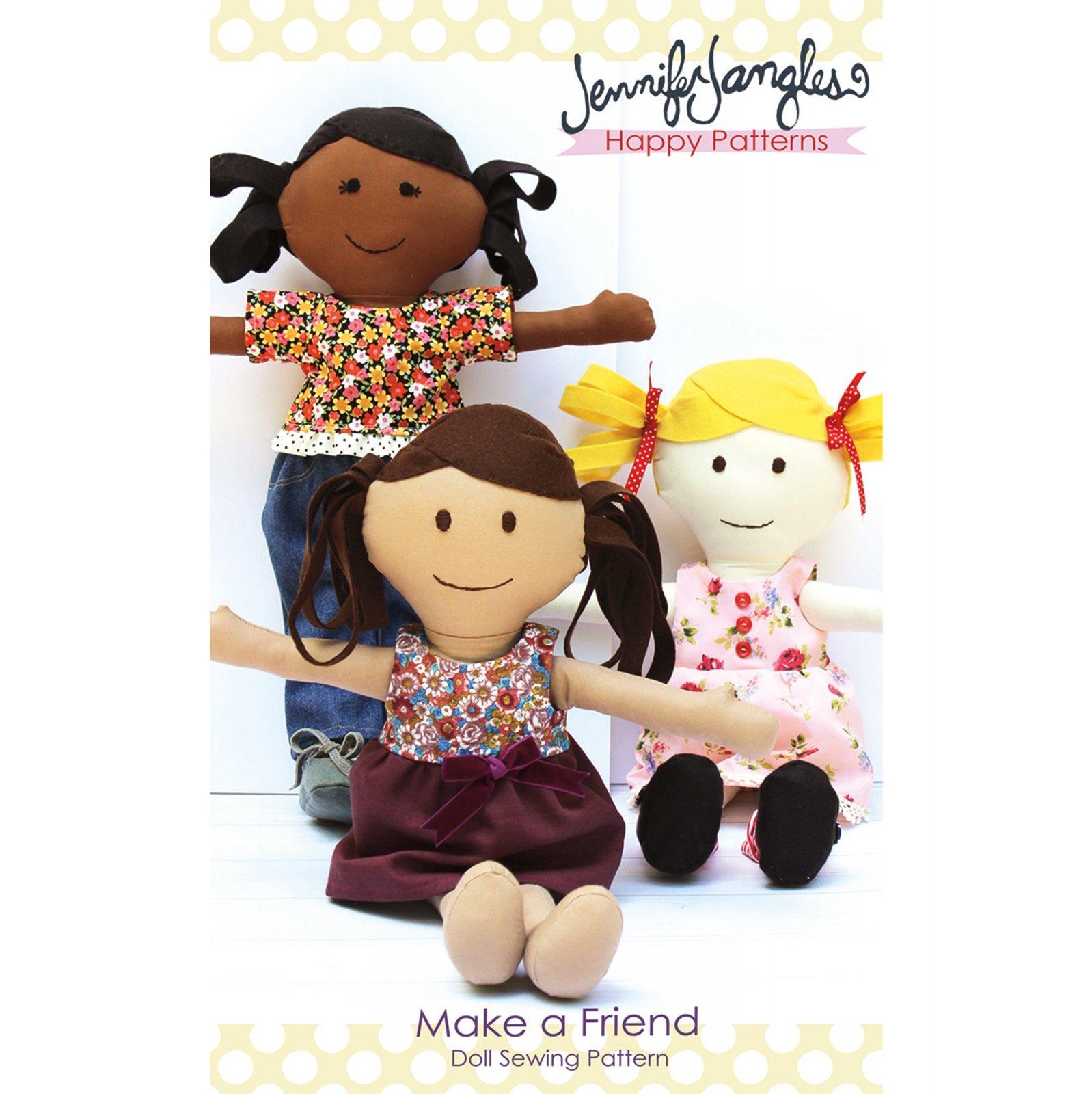 Pattern Make a Friend Doll