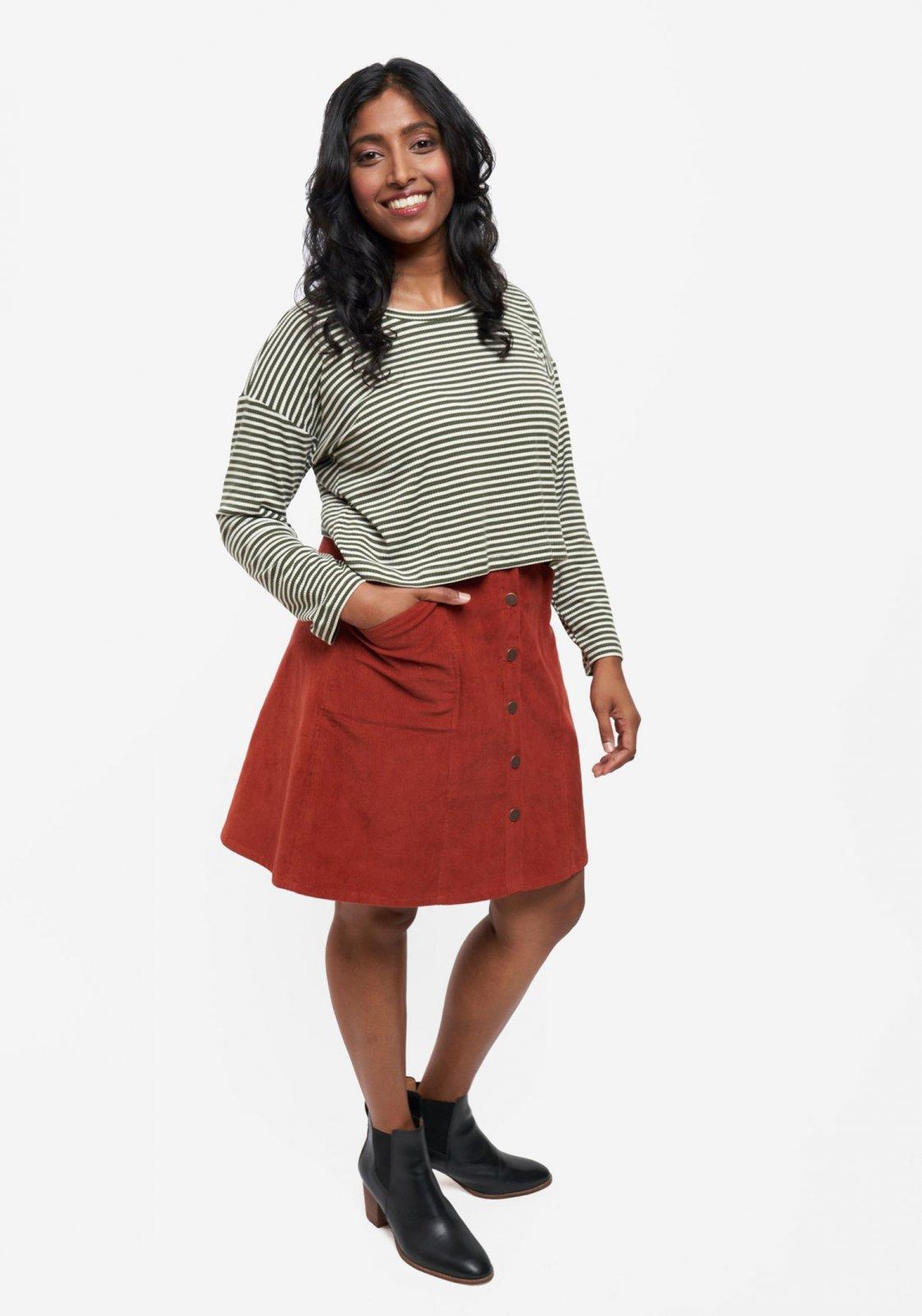 Pattern Reed Skirt 0-18 - Grainline