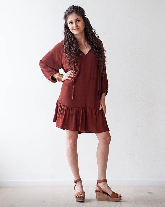 Pattern  Roscoe Dress / Top - True Bias