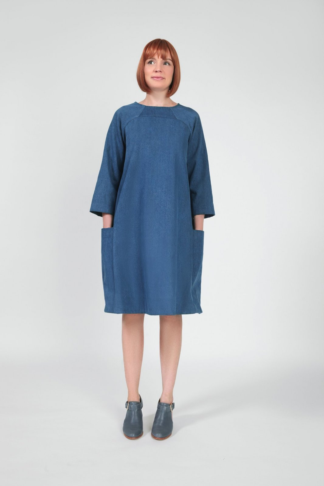 Pattern Rushcutter Dress In the Folds