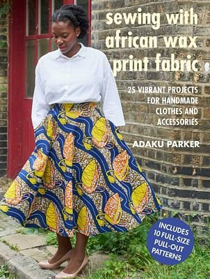 Book Sewing with African Print Fabric
