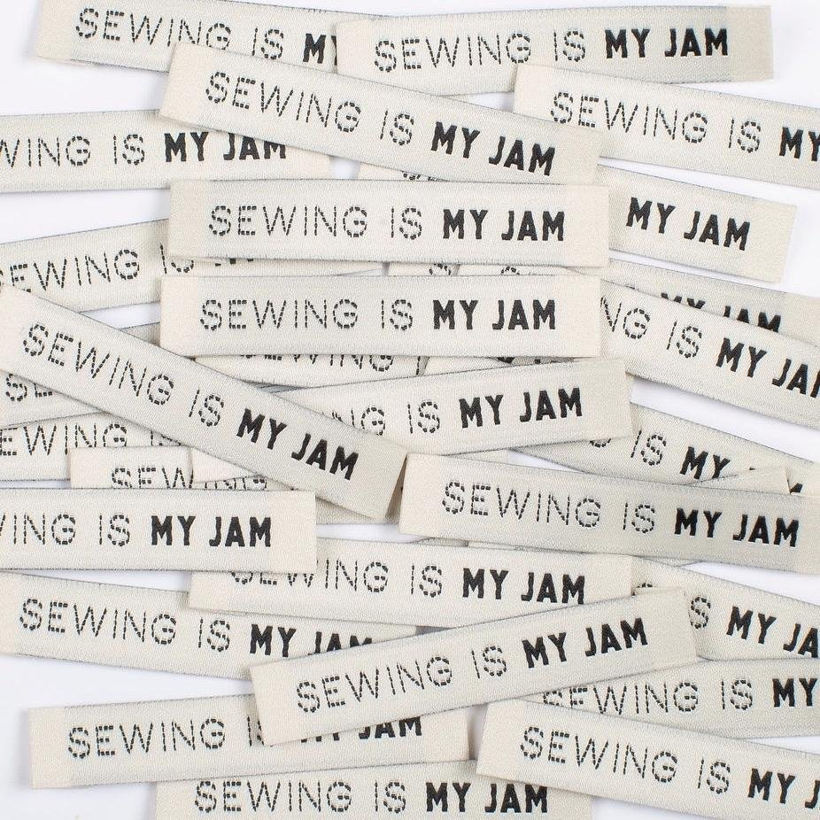 Labels Sewing is MY Jam