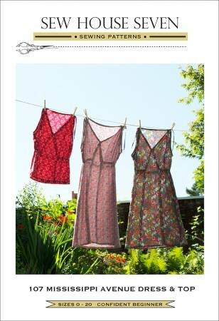 Pattern  Mississippi Avenue Dress / Top - Sew House Seven