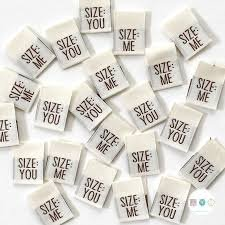 Labels Size me/Size you