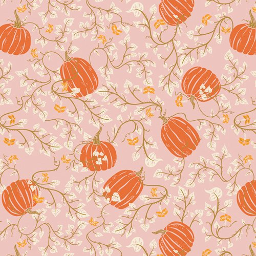 Fabric Spooky & Sweet Through the Pumpkin Patch