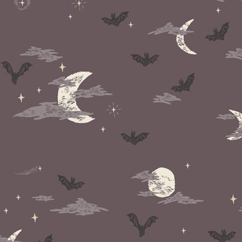 Fabric Spooky & Sweet Batty Over You