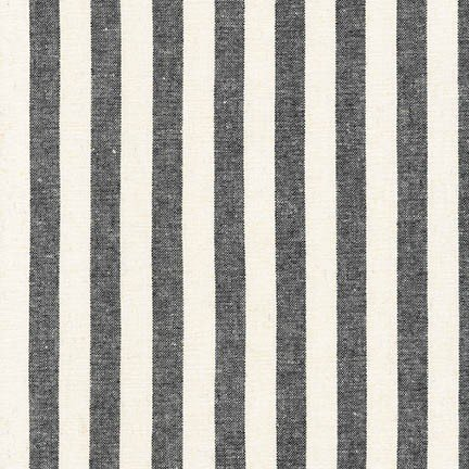 Essex Classic Woven Black Stripe